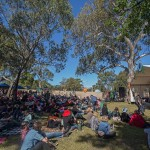 The scene during the afternoon at Bundoora Park. Photo Jim Jacob