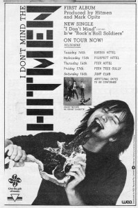 Hitmen advert 1981