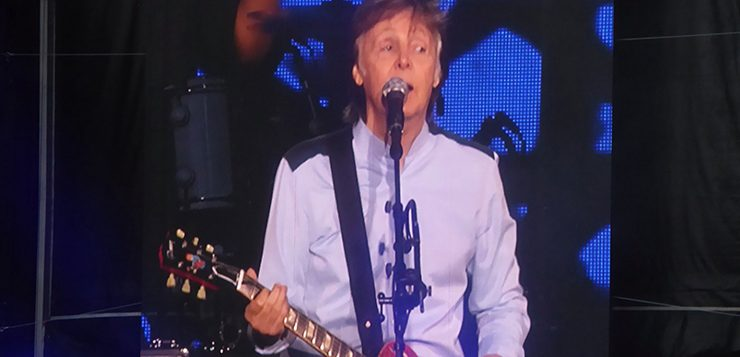 Paul McCartney Dazzles Melbourne